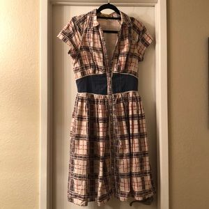 Country-esque style dress. Worn 2 times